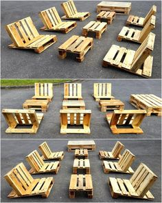 Let us start with an idea for the outdoor, this is a sun bathing furniture idea for those who like to spend some time in sun in every season on their weekends. This idea is perfect for the whole family.