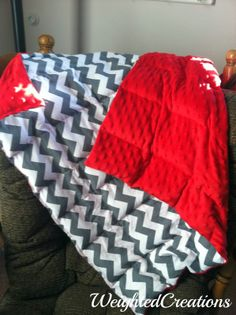 Weighted Creations- a blog about Sensory processing disorder, and she sells weighted blankets!