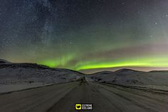 Imagine driving underneath the northern lights!