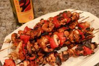 Recipe Tuesday - Wasabi-Soy Shrimp and Chicken Kebobs - Black Belt Living