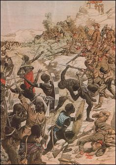 Namibia. The Herero staged an uprising at Okahandja. Even though the genocide policies that ensued were protested by some in the Reichstag and the treatment of the Herero became a public scandal within Germany, the extermination continued.