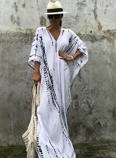 Shop Floryday for affordable Dresses. Floryday offers latest ladies' Dresses collections to fit every occasion. Vetement Hippie Chic, Simple Dresses, Casual Dresses, Floryday Dresses, Linen Dresses, Style Caftan, Caftan Dress, Glamorous Evening Dresses, Street Style Outfits
