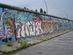 The last part of the Berlin-Wall
