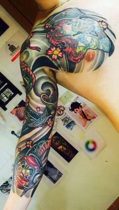 New japanese tattoo