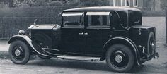 Saloon Limousine by Thrupp & Maberly (chassis GGP37)