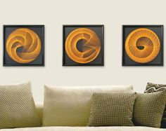 string art SUN AND MOON sacred geometry 3D art by MagicLineStore