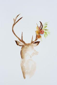 Deer Watercolor 2.jpg - File Shared from Box More