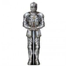 Suit Of Armor Cutout, Transform your church into a Kingdom help kids discover that by trusting God, everything is possible.We have a selection of scene setters for creating your Castle and many items to help decorating your classroom easy. We carry a complete line of Armor of God products that go great with this theme. Large Knights with jousting horses and shields. Decorate with the Stone Castle and the stonewall background. We have a decorating kit that includes a drawbridge and torches.