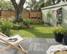 Un jardin mini entretien maxi détente