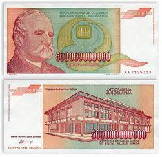 Yugoslavia currency. #Yugoslavia