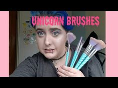 """TESTING OUT PRIMARK UNICORN BRUSHES "" PUBLISHED ON 18th of AUGUST 2017 Hey my makeup obsessed babies  Where to follow me on my social medias -Instagram: http://ift.tt/2wL6uvD -Instagram:http://ift.tt/2xEWiB9 -twitter:https://mobile.twitter.com/erinashleyisab1 -snapchat:http://ift.tt/2wL6w6J PRODUCTS SHOWN : PRIMARK UNICORN MAKEUP BRUSHES : Music :My music is from YouTube audio library I do not own this music  FAQS -what do you film with ? iPhone 6 s -what lights do you use to film with ? No…"