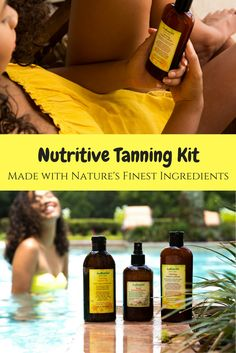 Our tanning products are packed with nutrients to feed, protect and support your skin for a long lasting tan. You can get the fast dark tan that you want while improving the look and feel of your skin.
