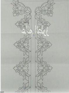 Modelos de alfombras de oración - #Modelos #Seccade - #seccadeler #seccade #kabe  #alfombras #kabe #Modelos #oración #Seccade #seccadeler Hand Embroidery Projects, Hand Embroidery Videos, Hand Embroidery Flowers, Embroidery On Clothes, Silk Ribbon Embroidery, Diy Embroidery, Embroidery Patterns, Border Embroidery Designs, Hand Embroidery Stitches