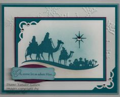 SU: Come to Bethleham  CCMC173- color challenge by Diane Vander Galien - Cards and Paper Crafts at Splitcoaststampers