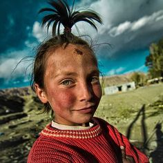 green eyed girl Photo by Mimo Khair -- National Geographic Your Shot