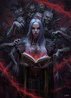 Print Gothic Picture Horror Poster Demon Art Entering the Gates of Hell