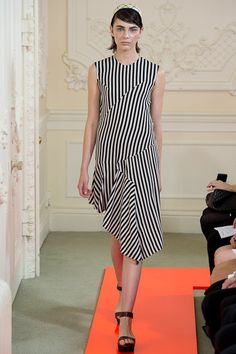 #LFW - Eudon #Choi Spring 2014 Ready-to-Wear Collection