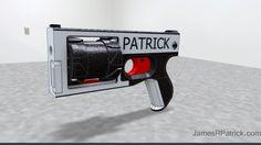 PM522 Washbear: el revólver impreso en 3D que dispara balas calibre 22
