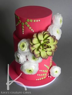 edible rananculus - karas couture cakes