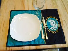 Princess Mermaid Cameo Placemat