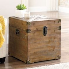 SONOMA life + style Duncan Trunk - Kohls - $124 (on sale)