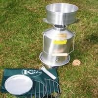 Great accessory for campers, family picnics, fishermen, scouts or anyone that appreciates the great outdoors.
