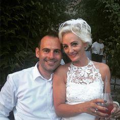 Meinem Cousin David und seiner Lydia alles Gute zur Hochzeit!