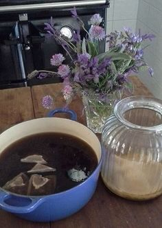 Kombucha tea is a fermented drink which is a probiotic, that puts good bacteria into your gut. This helps with your immune system. Kombucha Tea, Food Now, Fermented Foods, Immune System, Real Food Recipes, Healthy Food Recipes