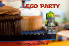 Lego Birthday Party... - The Polkadot Chair