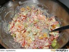 Těstovinový salát Myška Pasta Salad, Potato Salad, Cabbage, Potatoes, Vegetables, Ethnic Recipes, Food, Salads, Crab Pasta Salad