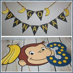 Curious George photobooth props!  I love custom request and i love my sil cameo for helping to get the job done!  #silhouetteamerica #printandcut #silhouettecameo #photobooth #photoprops #curiousgeorge #gobananas #george #monkeytheme #thelittleshoppeofpaper #partydecorations #photographyprop @silhouetteamerica