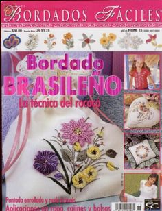 Artesanato com amor...by Lu Guimarães: Revista Bordado Brasileño Completa