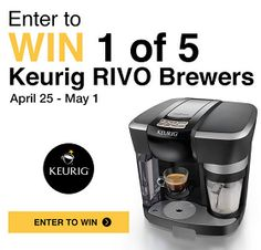 Home Outfitters Win 1 of 5 Keurig Rivio