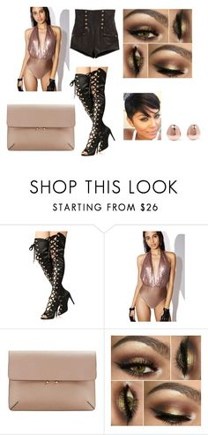 """Night Life"" by omarisfriend ❤ liked on Polyvore featuring Cape Robbin, Glamorous, MANGO and Monica Vinader"