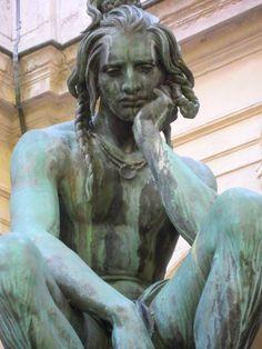 Musèe des Beaux Arts de Lyon (Chactas en méditation sul la tombe d'Atala - Francisque Duret)
