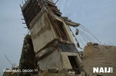 Lagos Collapsed Building: 34 dead 13 rescued alive as 5-storey building…