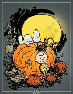 It's the Great Pumpkin Charlie Brown!!'!