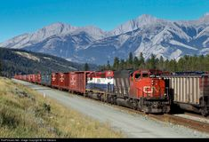 RailPictures.Net Photo: CN 5269 Canadian National Railway EMD SD40-2W at Jasper, Alberta, Canada by Tim Stevens