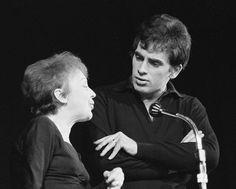 Edith Piaf et Théo Sarapo (son dernier amour)