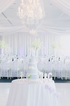 Elegant Crisp White Wedding - Lavender + Light Blue http://www.stylemepretty.com/australia-weddings/2014/04/11/elegant-purple-infused-perth-wedding/ Photography: BenYew.com -- Planner: Cathrin D'Entremont Weddings  http://cdweddings.com.au