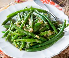 Quick and Healthy Green Beans