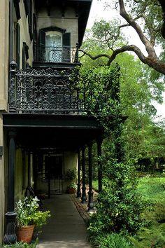 "bluepueblo: "" Balcony, New Orleans, Louisiana photo via kat "" - Home Decor Design Louisiana Homes, New Orleans Louisiana, Louisiana Bayou, Porches, New Orleans Homes, Belle Villa, Travel Photos, Places To Go, Beautiful Places"
