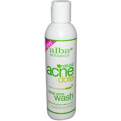Alba Botanica, Natural Acne Dote, Deep Pore Wash, Oil-Free, 6 fl oz (177 ml)  умывалка от акне
