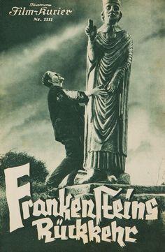 Program of The Bride of Frankenstein directed by James Whale, 1935 Frankenstein Pictures, Frankenstein Film, Sci Fi Horror, Horror Films, Horror Art, Horror Movie Posters, Movie Poster Art, Supernatural Films, Famous Monsters