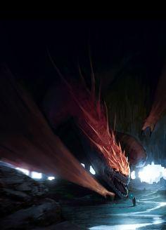 Dragon, Pouya Zarif on ArtStation at https://www.artstation.com/artwork/XNzzl