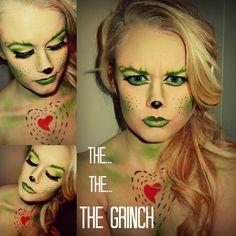 The The The Grinch! Makeup