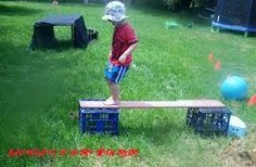 backyard obstacle course for kids - Google Search