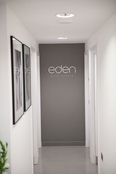 Eden Skin Clinic in Kensington & Wimbledon are within TONI&GUY salons. Clinic Interior Design, Clinic Design, Blow Bar, Spa Treatment Room, Beauty Salon Decor, Skin Care Clinic, Spa Design, Skin Care Treatments, Office Interiors