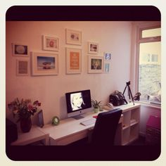Beautiful space created by a very talented woman