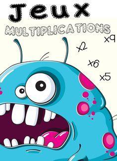 Tables de multiplication tables affiche et forme - Apprendre les tables de multiplication en s amusant gratuit ...
